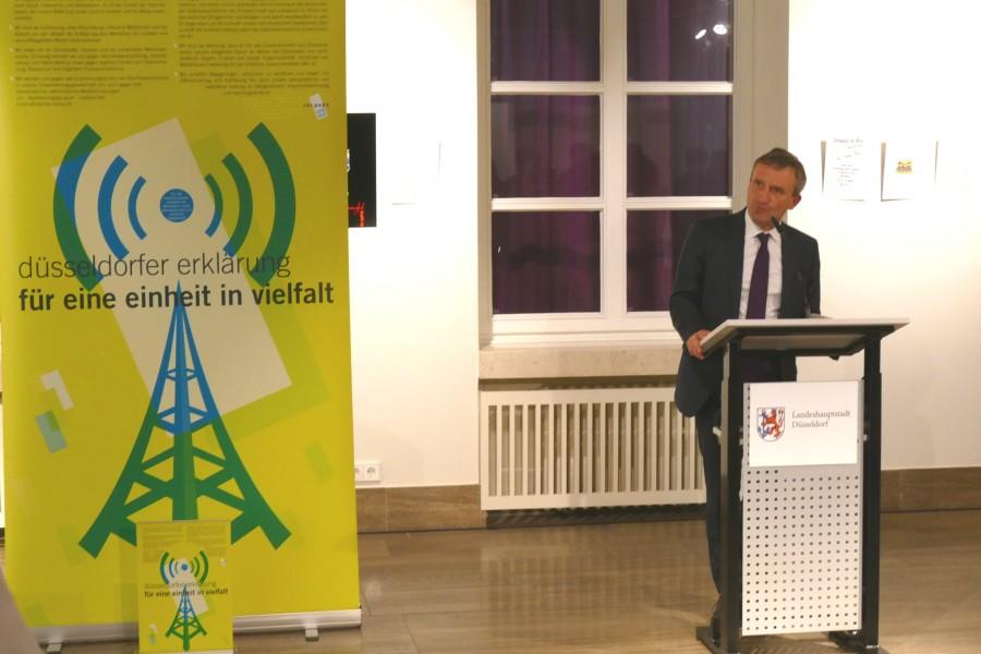 Vorstellung Düsseldorfer Erklärung, 27.6 .2018 im Rathaus